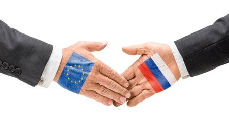 EU and Russia reach out their hands