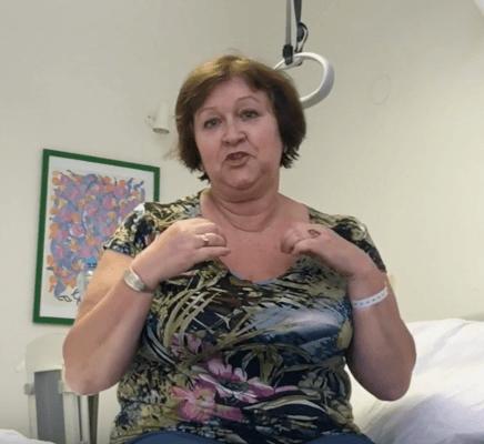 Калугина Татьяна, 62 года, Санкт-Петербург. Миниинвазивное эндопротезирование тазобедренного сустава и реабилитация. Ноябрь 2016 года.