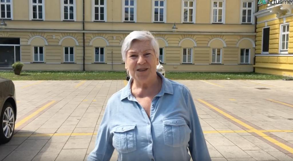 Зинаида Петровна, 76 лет, Москва. Миниинвазивная замена ТБС и реабилитация, май 2017 года.