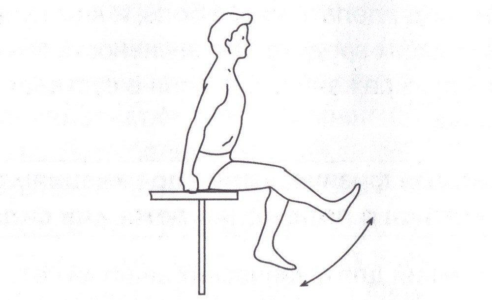 Комплекс упражнений перед эндопротезированием тазобедренного и коленного суставов