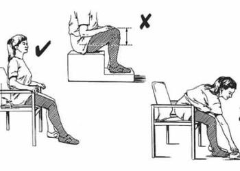 Как правильно и безопасно сидеть после эндопротезирования тазобедренного сустава