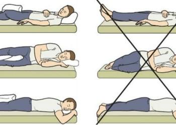 Как правильно спать после операции эндопротезирования тазобедренного сустава