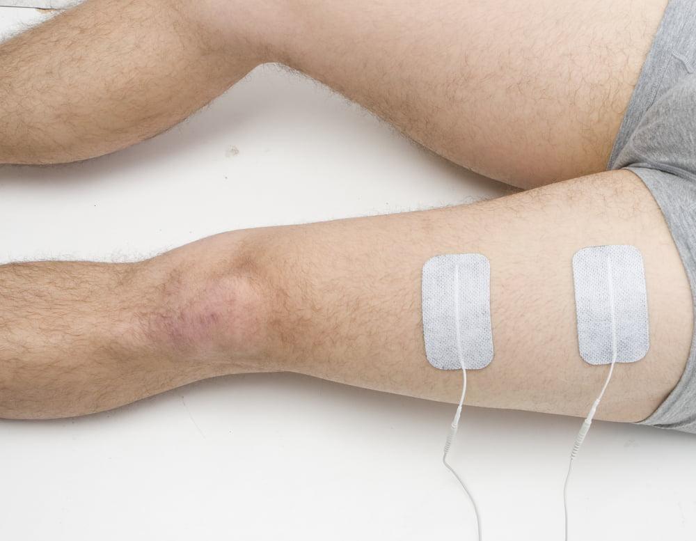Массаж ног после эндопротезирования нога