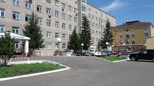 ДКБ на станции Красноярск
